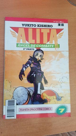 Alita, Ángel de Combate n°7