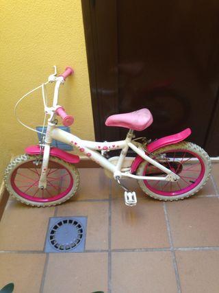 Bicicleta 16 pulgadas niña
