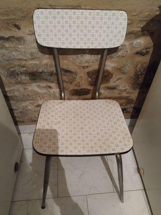 silla y banco