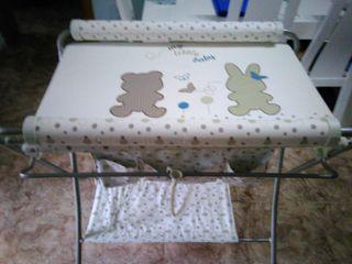 Bañera Cambiador para bebé plegable