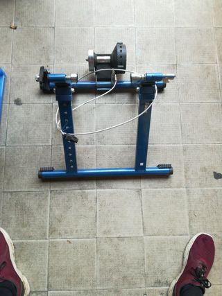 Rodillo entrenamiento bicicleta