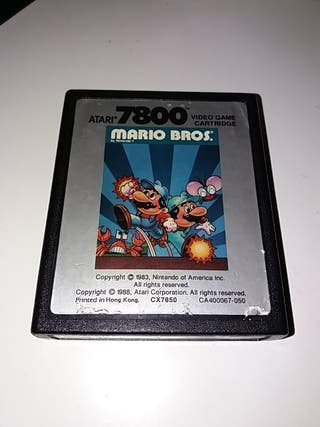 atari 7800 videojuego