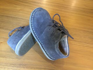Zapatos serraje niño