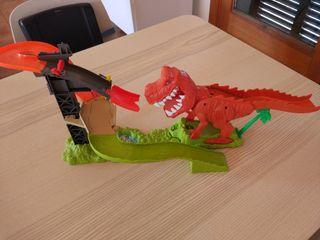 """Hotwheels """"Ataque del T-rex"""""""