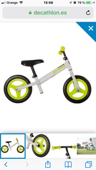 Bicicleta sin pedales BTWIN