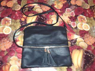 Bolso negro vestir+cartera mujer negra