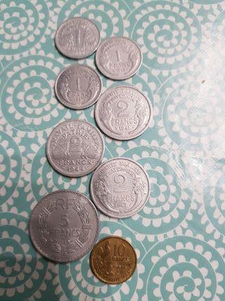 monedas francia
