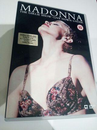 MADONNA The Girlie Show DVD