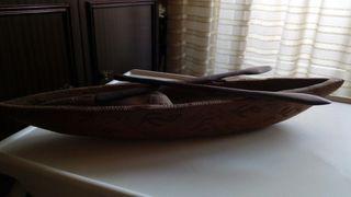 Canoa de madera