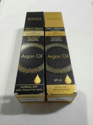 Duo ARGAN OIL, crema de día y crema de noche