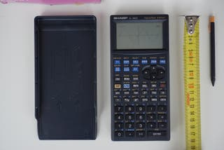 Calculadora gráfica Sharp EL-9600 pantalla táctil