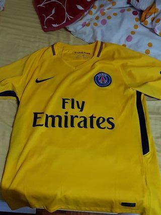Camiseta del PSG Talla M con NEYMAR JR 10