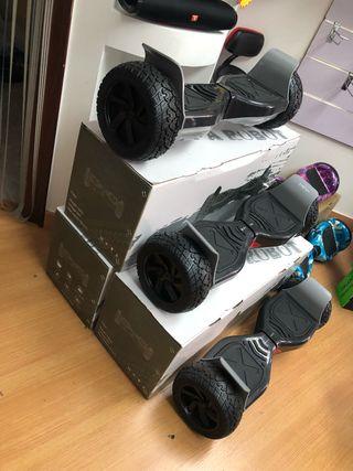 patinete eléctrico hoverboard hummer 4x4 Nuevo!