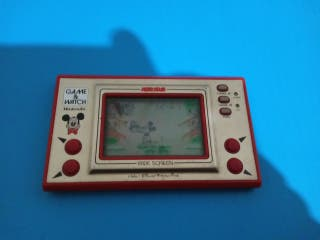 consola Game and watch de Mickey mouse