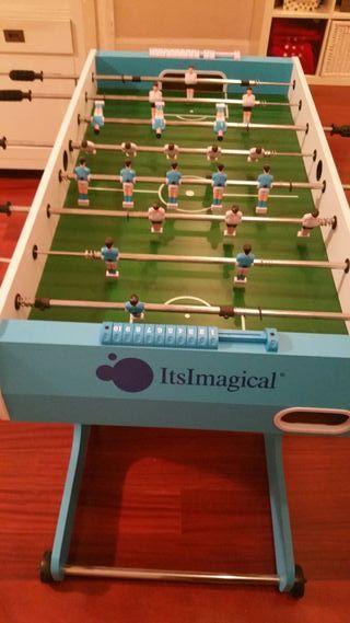Futbolin plegable madera Imaginarium