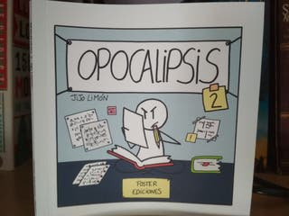 Opocalipsis, libro de viñetas para opositores