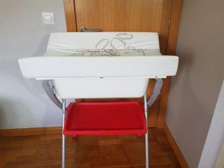 Bañera cambiador plegable de Prenatal