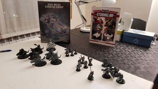 Unidades Lobos Espaciales Warhammer 40K