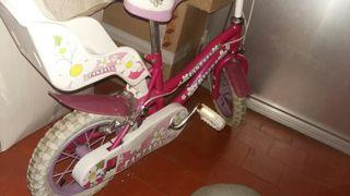 bicicleta niña 3/4 años