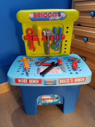 Taller herramientas juguete