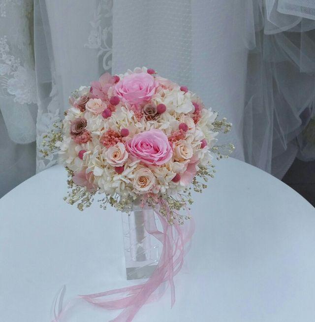 Ramo De Novia Flores Preservadas De Segunda Mano Por 100 En Sant