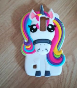 Funda móvil unicornio Lg K7