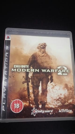 CoD modern warfare 2 ps3