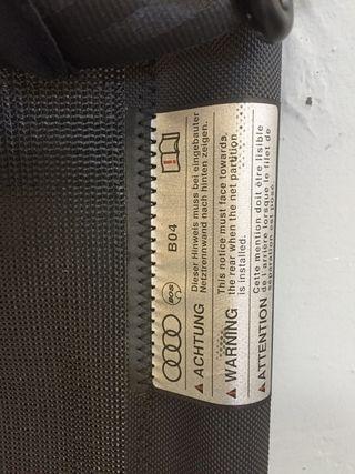 Audi Q5 separador protector maletero