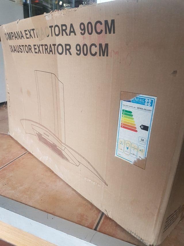 Campana extractora 90 cm