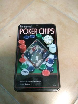 Fichas de Poker NUEVO