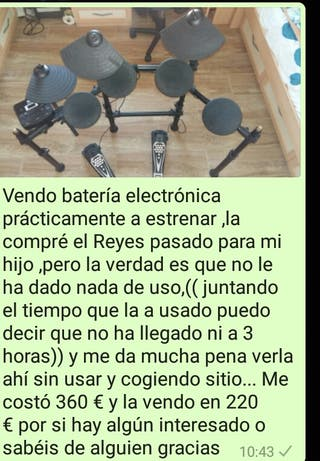 bateria electronica