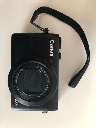 Camara de fotos Canon powershot G7X
