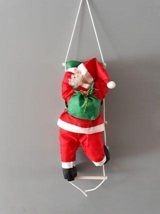 Papa Noel trepador interior exterior