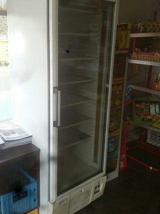congelador vitrina vertical