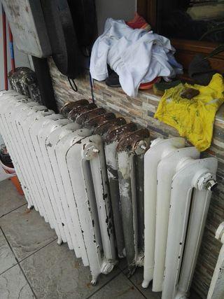 radiadores antiguos de hierro
