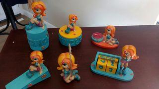 Conjunto 6 muñecas