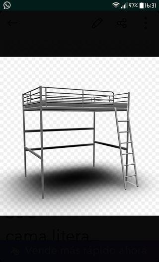 Cama Litera Ikea De Segunda Mano En Wallapop
