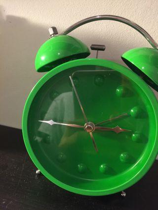 Reloj y despertador