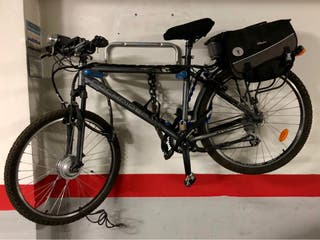 Bicicleta electrica rockrider