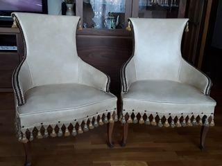 sillones vintage se venden Juntos o por separado