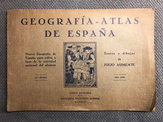GEOGRAFÍA-ATLAS DE ESPAÑA. (a.1933)