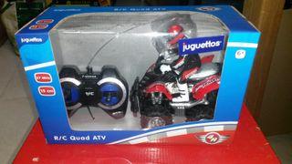 JUQUETE CONTROL REMOTO 4R QUAD ATV
