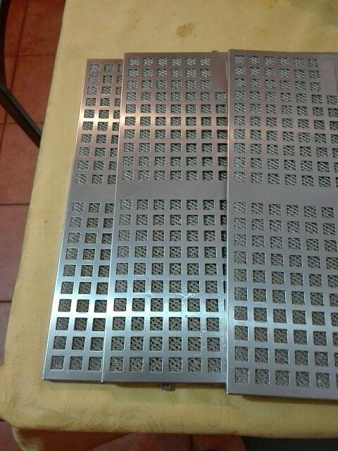 Filtros de campana extractora de acero inoxidable