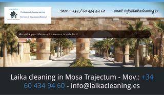 Servicio de limpieza- Cleaning service