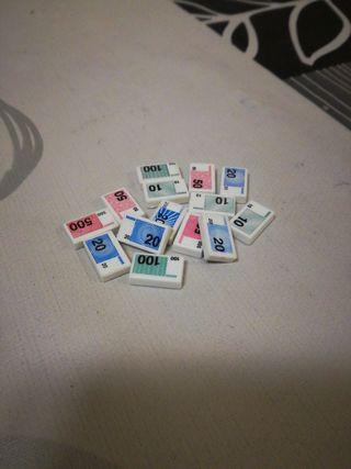 playmobil n23,lote de billetes