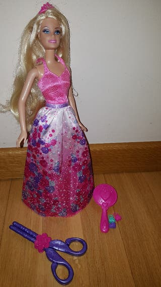 Barbie princesa peinados.