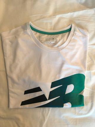 Camiseta técnica running New Balance