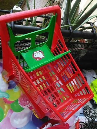 carrito de compras juguete.