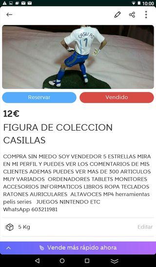 FIGURA DE COLECCION DE CASILLAS