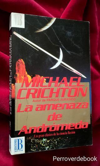 #Crichton.. LA AMENAZA DE ANDROMEDA